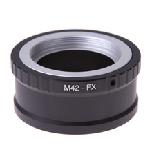 Camera Lens Adapter M42 FX M42 M 42 Lens to for Fujifilm X Mount for Fuji X Pro1 X M1 X E1 X E2 Adapter Ring
