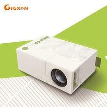 Gigxon-g19 + yg310 película proyector full 1080 p 400-600 lúmenes para estudio proyector de bolsillo
