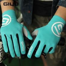 Giyo Touch Screen Long Full Fingers Gel Sports Cycling Gloves Women Men Bicycle Gloves Mtb Road Bike Riding Racing Gloves