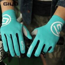Giyo Touch Screen długie pełne palce żel sportowe rękawiczki rowerowe kobiety mężczyźni rękawice rowerowe Mtb szosowe rękawice wyścigowe do jazdy