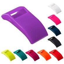 10 видов цветов Силиконовые ТПУ крышка заряда Дизайнер рукав протектор с функцией Dust Разъем для fitbit Force/FitBit Charge hr
