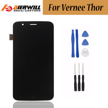 for Vernee Thor LCD Display + Touch Screen 100%  Digitizer Assembly Replacement Repair Accessories For Vernee Thor + Free  Tools