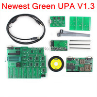 Newest A UPA USB Programmer V1 3 Full Set With Full Adapter Popular Eeprom Universal Chip