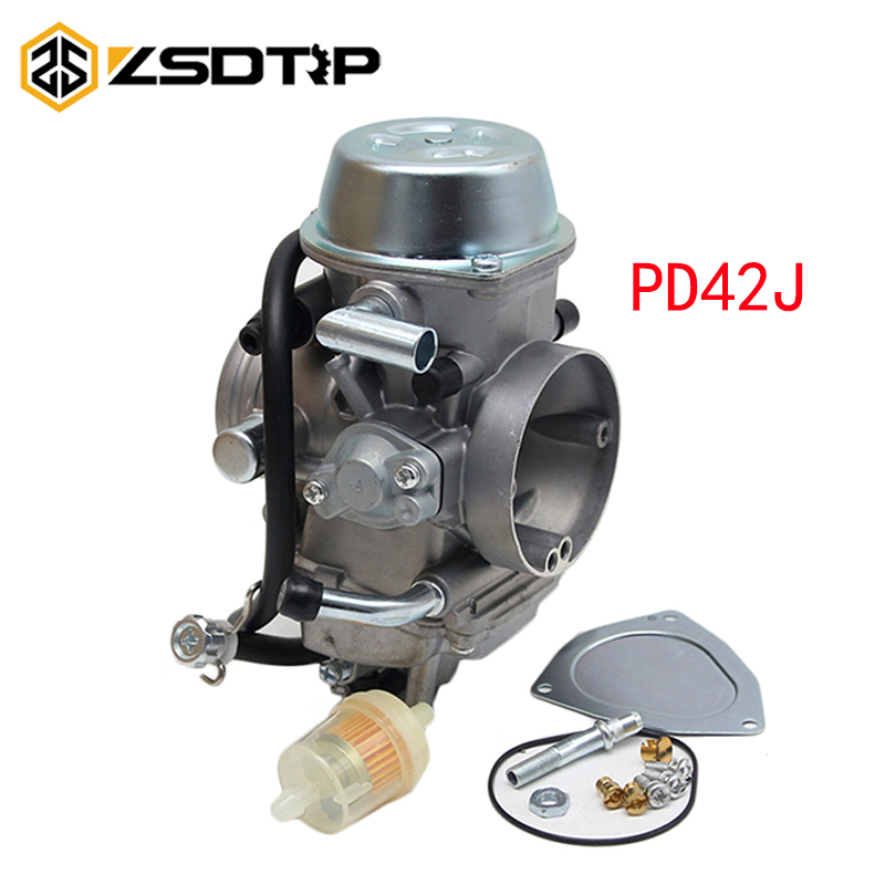 ZSDTRP PD42J 42mm Vacuum <font><b>Carburetor</b></font> Case For Yamaha Honda Polaris 400CC 500CC 600CC 650CC 700CC Racing Motor image