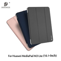 DUX DUCIS For Huawei MediaPad M 3 Lite Skin Pro Series Auto Wake Sleep Tri Fold