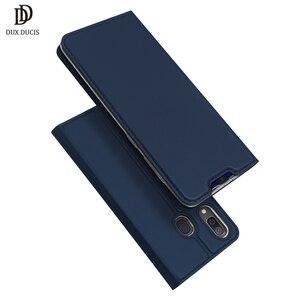 Image 1 - DUX DUCIS Flip Leather Case For Samsung Galaxy A30 A50 A40 Wallet Book Cover for Samsung A30 A50 A70 A20 A20e A10 A10S A40 2019