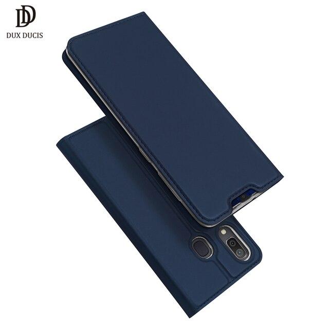 DUX DUCIS Flip Leather Case For Samsung Galaxy A30 A50 A40 Wallet Book Cover for Samsung A30 A50 A70 A20 A20e A10 A10S A40 2019