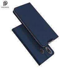 DUX DUCIS พลิกหนังสำหรับ Samsung Galaxy A30 A50 A40 กระเป๋าสตางค์สำหรับ Samsung A30 A50 A70 A20 a20e A10 A10S A40 2019