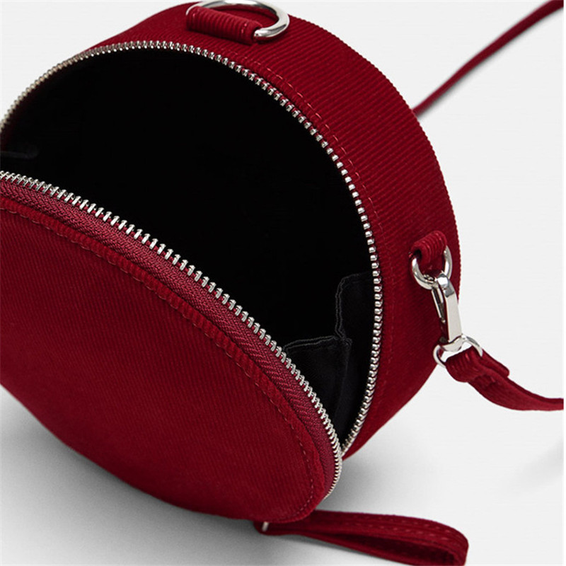 Super Us 25 65 40 Off New Women Red Bag Fashion Solid Corduroy Bean Bag Rounds Crossbody Bags For Women Ladies Hand Bags In Shoulder Bags From Luggage Beatyapartments Chair Design Images Beatyapartmentscom