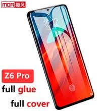 מסך מגן עבור Lenovo Z6 פרו מזג זכוכית סרט z6pro 2.5D מלא כיסוי Mofi מקורי פרימיום lenovo z6 פרו מזג זכוכית