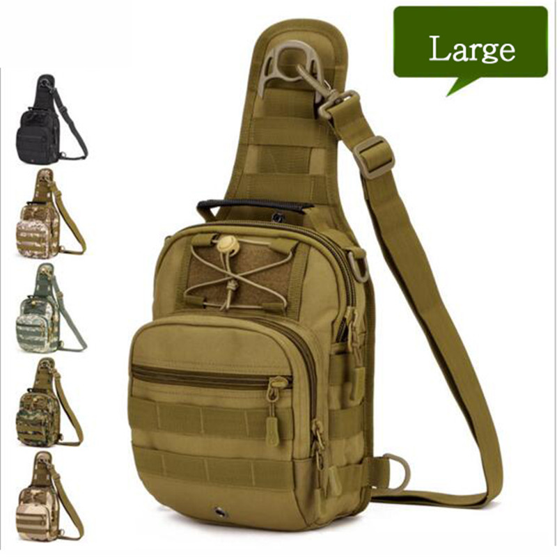 839f0b976a Fan of military camouflage Chest inclined bag Men s bags backpack multi  function high grade wearproof travel bag luxury Popular-in Backpacks from  Luggage ...
