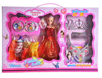2015 Cute Doll Sweet Princess Doll House Dream Big Boxes Full Set Of