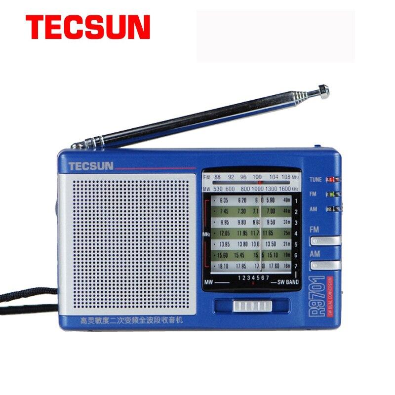 Professioneller Verkauf Tecsun R-9701 Radio Fm/mw/sw Radio Multiband Radio Receiver Doppelkonversion Mit Externer Antenne Y4377a Fm Fadio Tragbare Radio Tragbares Audio & Video Unterhaltungselektronik
