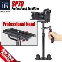 SP70 Alumínio Handheld Estabilizador Steadycam Steadicam DSLR Câmera de Vídeo Fotografia de cinema Sistema de Estabilização de 3.0 kg de carga