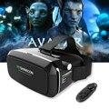 2017 Shinecon VR Pro VRBOX, Монтируемый в Головке Google Картон Виртуальная Реальность 3D Очки Гарнитура Шлем Для Смартфонов 4-6 '+ пульт дистанционного