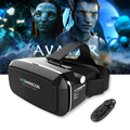 2017 shinecon vr pro auriculares gafas de realidad virtual 3d vrbox head mount google cartón casco para smartphone 4-6 '+ remote