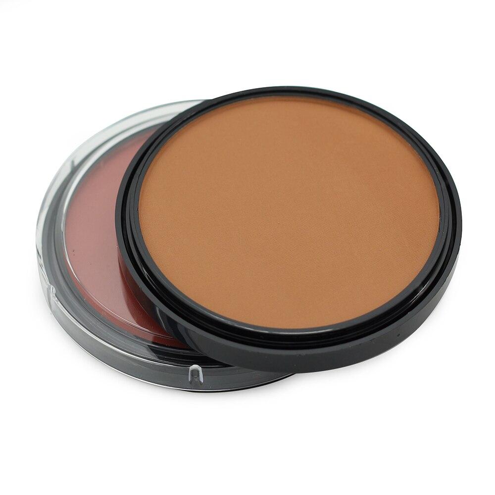 Novo estilo de Música Flowder Marca Bronzer Pó Blush Blush Maquiagem Contour Shading Pó paleta Bronzer & Highlighter