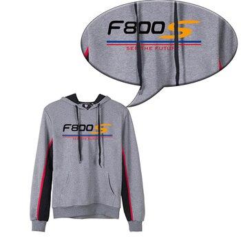 KODASKIN Men F800S Cotton Round Neck Casual Printing Sweater Sweatershirt Hoodies