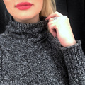High collar cashmere sweater women thick sweater fashion 2019 autumn and winter new twist knitted bottom wool sweater