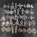 41 Style Reiki Chakra Pendant 7 Chakra Stones Natural Stone Pendant Semi Precious Stones Choker Necklace For Women Jewelry ZZ229