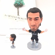 Soccerwe dolls figurine football stars 1# Buffon 17-18 Movable joints resin model toy action figure dolls collectible gift