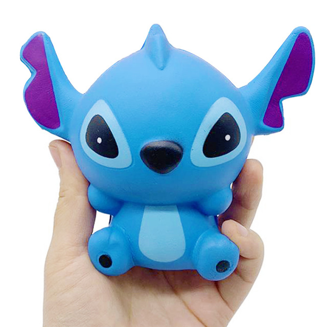 Jumbo Cute Stitch Squishy Simulation Slow Rising Sweet Scented Decompression Stress Relief Soft Squeeze Toys Fun for Child Toy | Stress Relief Toy