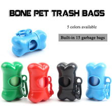 Prenosna škatla za koš za hišne ljubljenčke vsebuje vrečke za smeti za higieno okolja Pohodni psi in potovanja na prostem