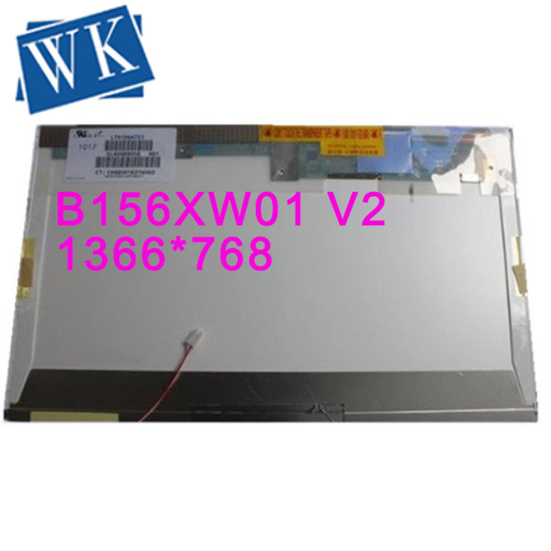 Livraison Gratuite B156XW01 V2 V1 V0 V3 LTN156AT01 LP156WH1 TLC1 CLAA156WA01A N156B3-L02 15.6 ''inch écran LCD 1366*768 LVDS 30pin