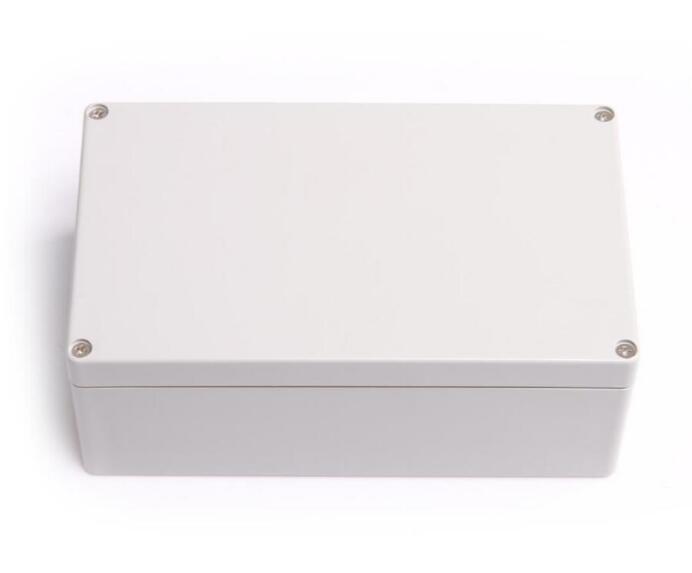 weatherproof 200x120x75mm electronic junction box Waterproof 200*120*75mm free shipping 1piece lot top quality 100% aluminium material waterproof ip67 standard aluminium junction box 120 120 82mm