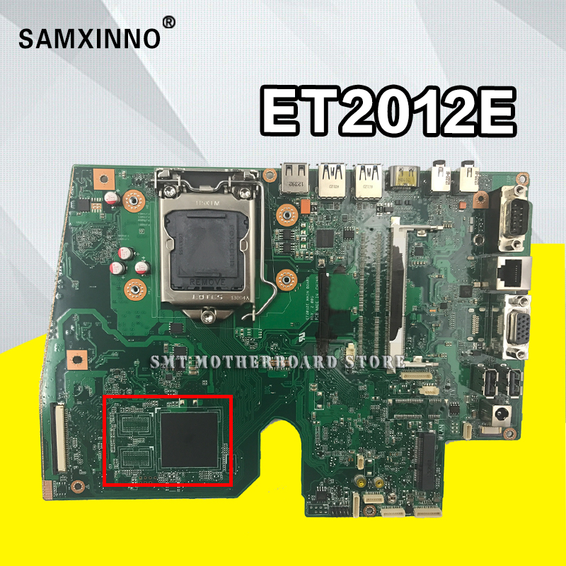 For Asus ET2012E ET2012A all-in-one motherboard desktop mainboard Fully Tested Motherboard desktop mainboard for s320 s320 00 s320 10 03t7075 11133 1m 48 3ht04 01m motherboard fully tested