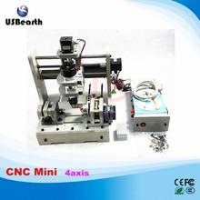 Cheap LY DIY mini CNC 4 axis router mini CNC milling machine free tax to RU EU