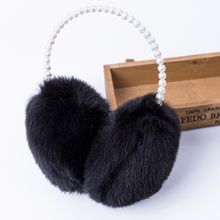 Free shipping!! Fashion Rabbit Fur Earmuffs Ear Muffs Ear Warmers Earmuffs Winter Outdoor Women Christmas Gifts Multicolor