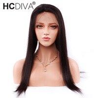 Прямые Синтетические волосы на кружеве Человеческие волосы Искусственные парики с волосами младенца 150% Плотность индийский 360 Синтетическ...