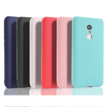 Slim 360 Protect Candy Color Soft Silicone Phone Case Cover For Xiaomi Redmi 4X Note 4X 5 Plus Note 5 Pro Note 4 4A 3S