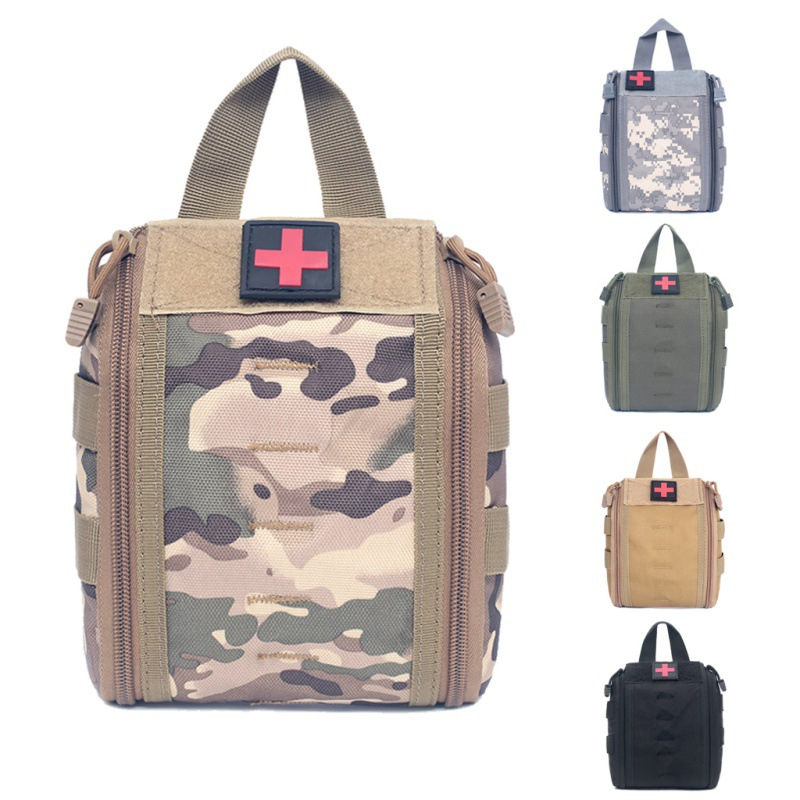 Outdoor emergency first aid kit Tactical EMT pouch MOLLE military medical outdoor travel Climbing ro