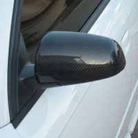 A4 B7 Side Wing Mirror Cover Caps For Audi A4 B7 2005 2008 Carbon Fiber