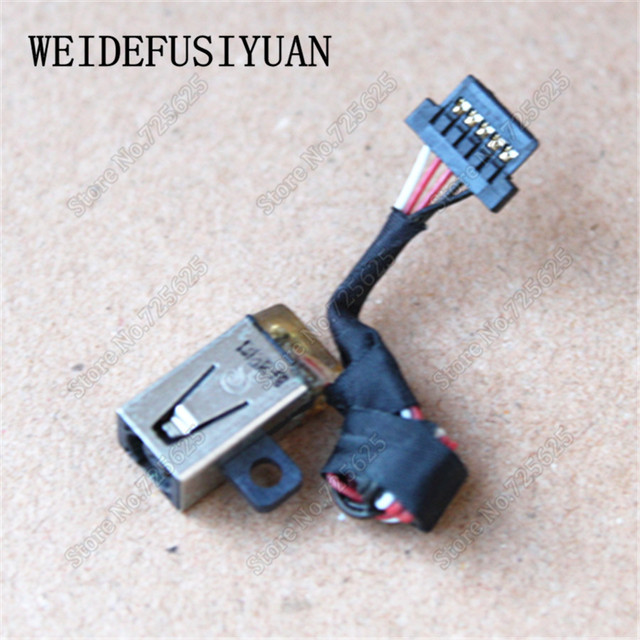US $7.0  DC in Power Jack Plug Port Input Wire w/Cable Harness Connector Dc Wiring Harness W Plug on