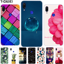 hot deal buy 6.3'' for xiaomi redmi note 7 case soft tpu silicone cool cover for xiaomi redmi note 7 pro case coque redmi note 7 note7 fruit