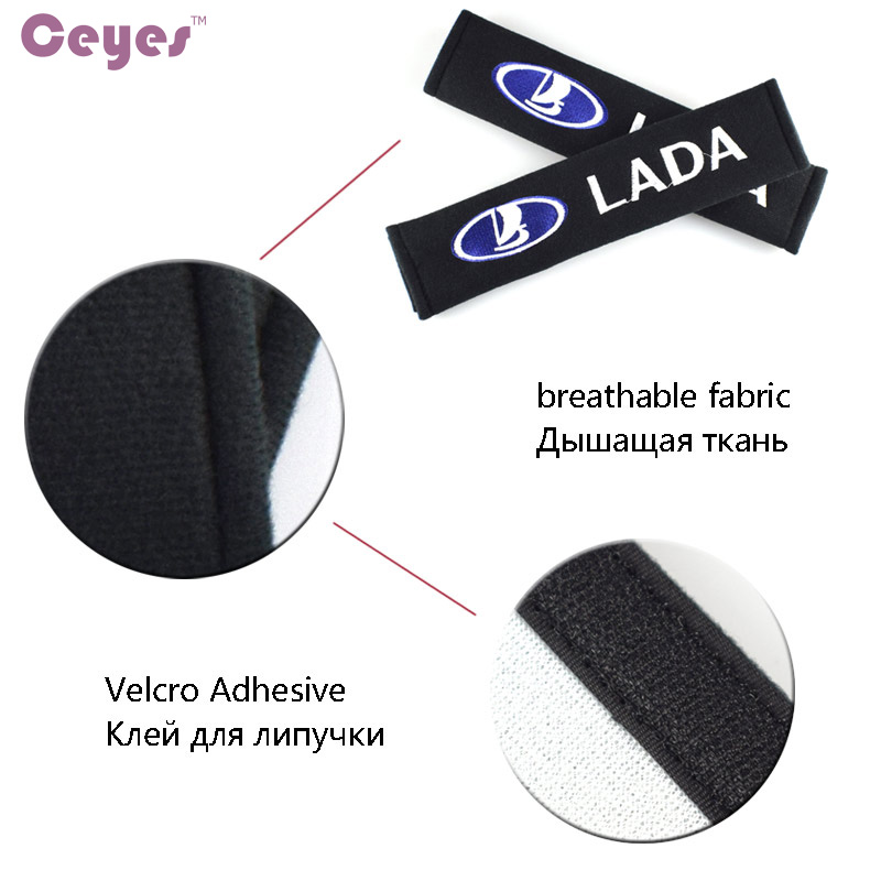 Image 5 - Ceyes Car Styling Car Accessories Case For Lada Kalina Priora Granta Samara 2110 Niva Stickers Car Styling Auto Protection Cover-in Car Stickers from Automobiles & Motorcycles