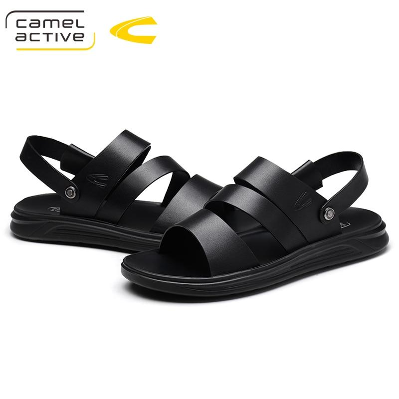 Camel Active Mens Shoes Special Design Men Sandals Summer Men Shoes Beach Breathable Gladiator Sandals Men Zapatillas Hombre