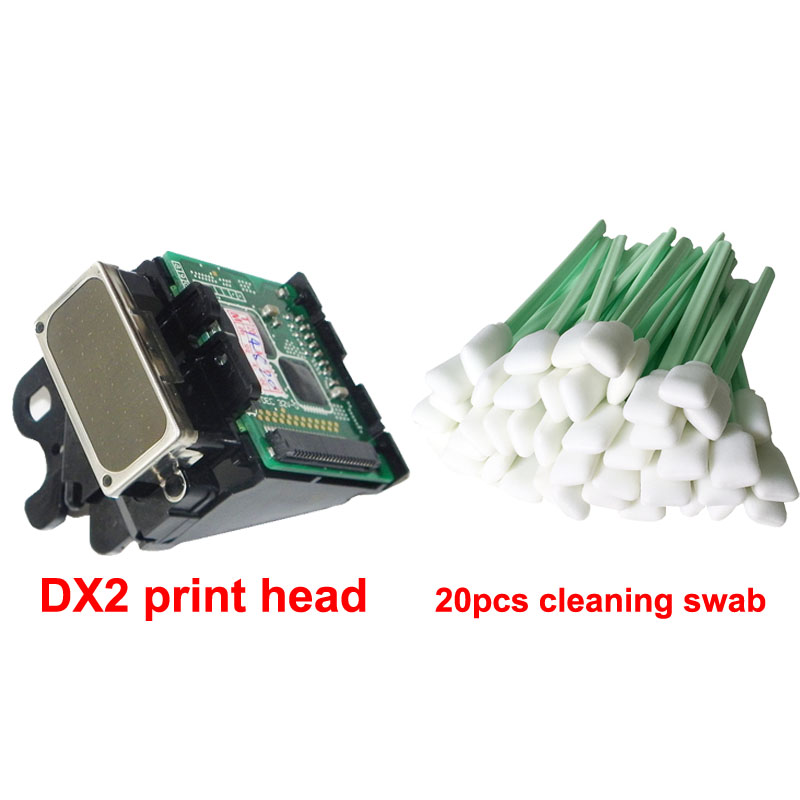 20 pcs Swab Free with DX2 Solvent printhead for Epson Pro3000 7000 9500 1520k for roland SJ500 SJ600 9000 nozzle Print head
