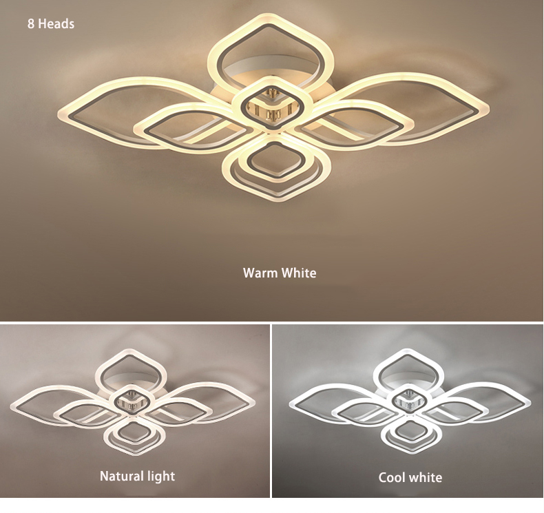 HTB1FriSXInrK1RjSspkq6yuvXXa4 Modern Chandeliers Led to Living Room Bedroom Dining Room Acrylic Ceiling Lamp Chandelier Home Indoor Lighting