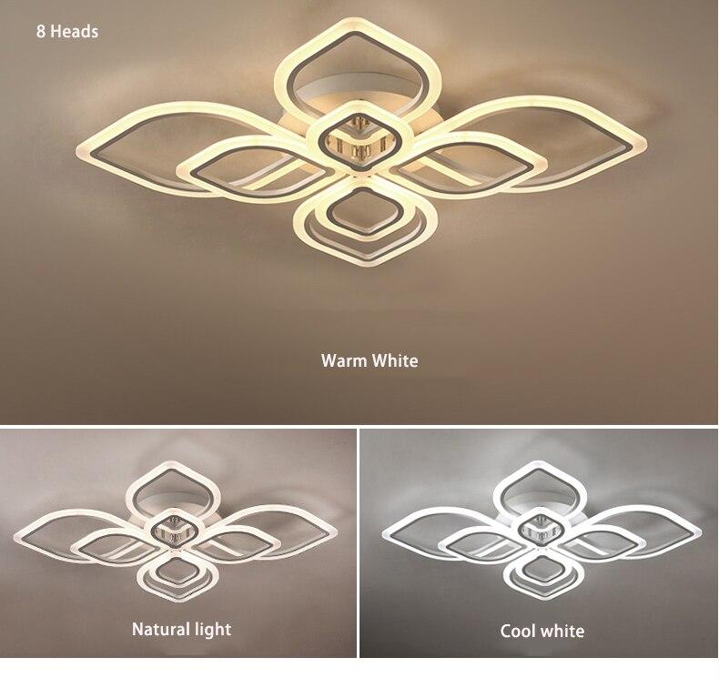 HTB1FriSXInrK1RjSspkq6yuvXXa4 Modern Chandeliers Led to Living Room Bedroom Dining Room Acrylic Ceiling Lamp Chandelier Home Indoor Lighting
