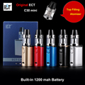 Original ECT C30 Mini Kit Top filling Kenjoy Met 2ml Atomizer Built-in 1200mAh Battery vaporizer Box Mod Electronic Cigarette