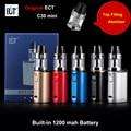 Original ect c30 mini kit de enchimento superior kenjoy conheceu 2 ml atomizador 1200 mah bateria caixa vaporizador mod eletrônico cigarro