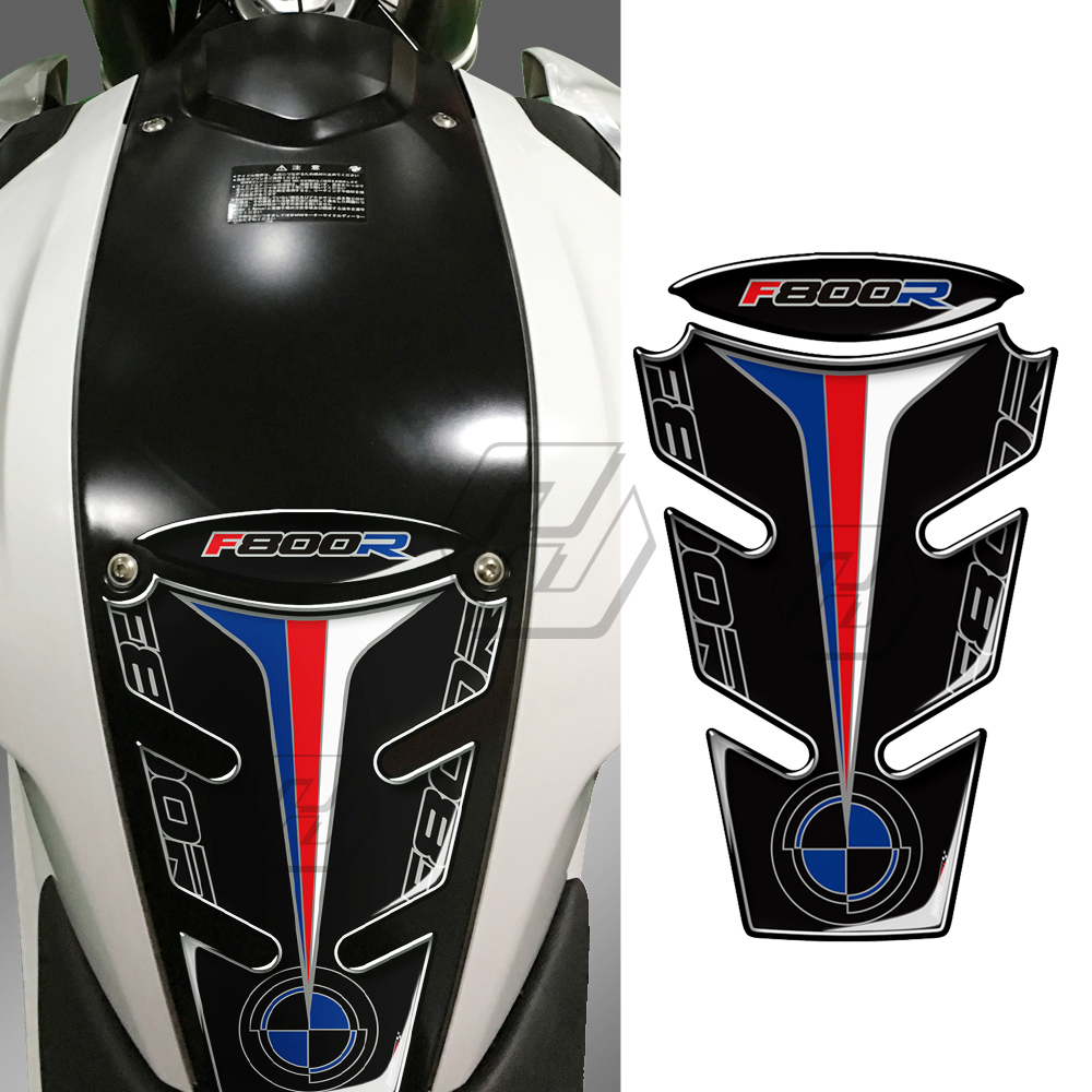 3D Gel Motorcycle Tank Pad Protector Decals Sticker Case For BMW F800R 2019-2015