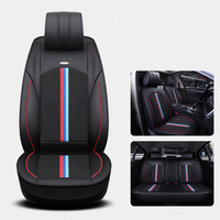 (Front + Rear) Universal Ice Silk Leather car seat covers For BMW e30 e34 e36 e39 e46 e60 e90 f10 f30 x3 x5 x6 car accessories