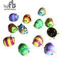 Розничная Baby дети младенцы забавные игрушки детские заводные игрушки, многоцветный весна пролонгировать Жуки Бесплатная доставка 2014 новый