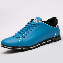 Mens casual shoes fashion England sports style extra large four seasons mens