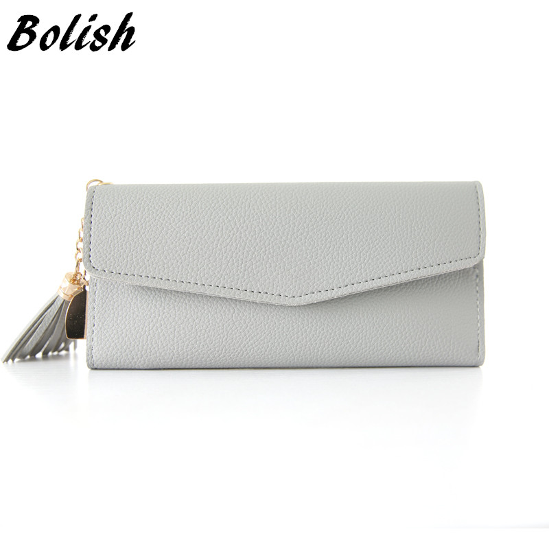 Bolish Lady Fashion Mini Wallet Women Simplicity Card Package Female Vintage Purse Casual Sweet Zipper Bag 7 Colors Available ширма simplicity fashion